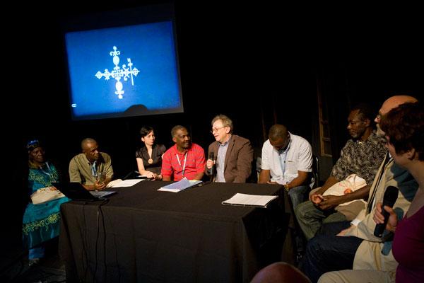 Spotkanie z grupą Haitańczyków