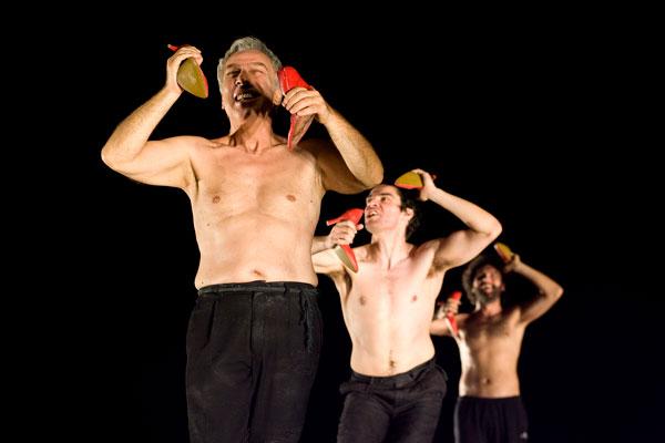 Ajaks, szaleństwo, Attis Theatre, reż. Theodoros Terzopoulos