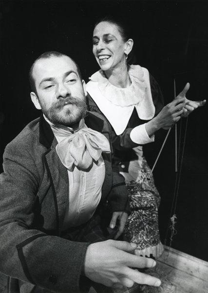 Od lewej: Sławomir Chwastowski, Brigitte Kaufmann