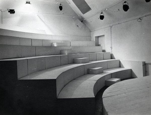 Opis: amfiteatr, projekt Jerzego Gurawskiego