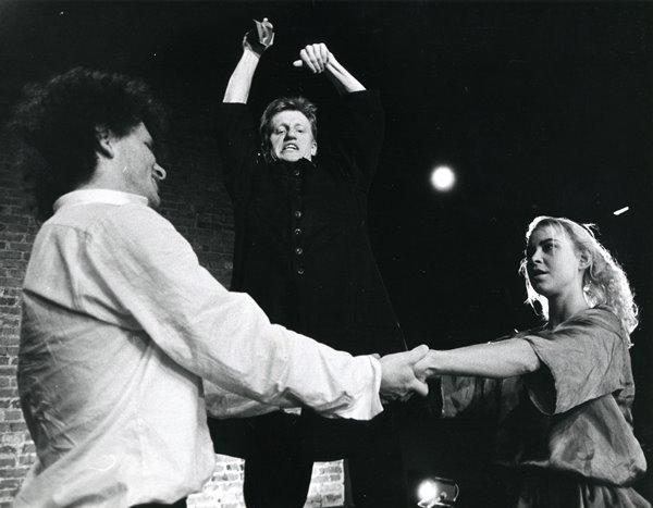 Od lewej: Mirosław Kocur, Bogumił Gauden, Jolanta Cynkutis
