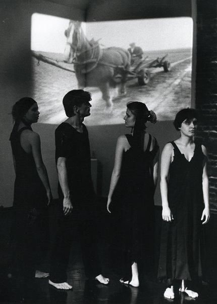Od lewej: Jolanta Kurach, Bogumił Gauden, Grażyna Błęcka-Kolska, Jolanta Cynkuti