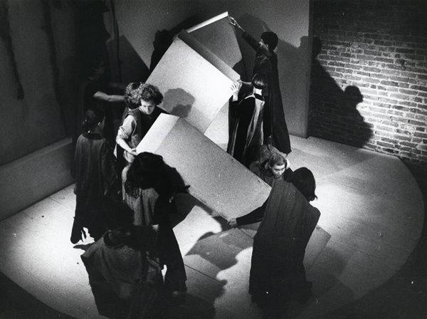 Od lewej: Marc Robinson, Brigitte Louveaux, Kevin McGee, Jolanta Cynkutis, Jolan
