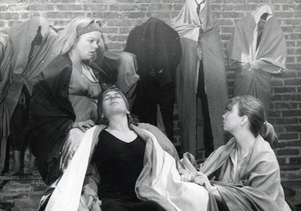 Od lewej: Valerie Hubbard, Beth Kucharczyk, Bridgett Palmer