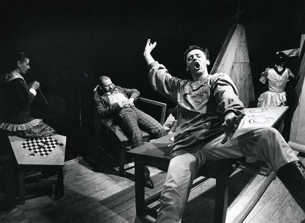 Od lewej: Brigitte Kaufmann, Janusz Stolarski, Sławomir Chwastowski, Dagmara Cho