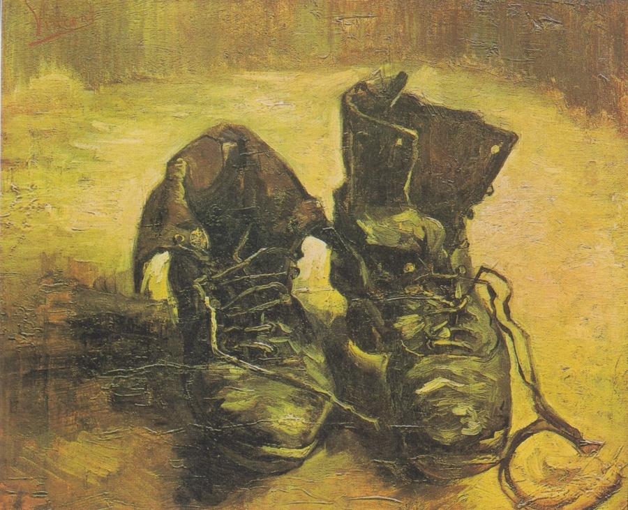 """Van Gogh: """"Ein Paar Schuhe"""""""