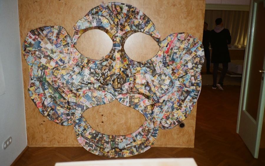 Maska-stół, Przemek Branas, fot. dzięki uprzejmości artysty