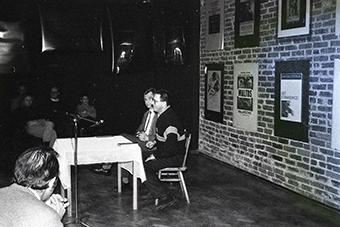 Zbigniew Osiński i Jerzy Radziwiłowicz, spotkanie 21 marca 1991