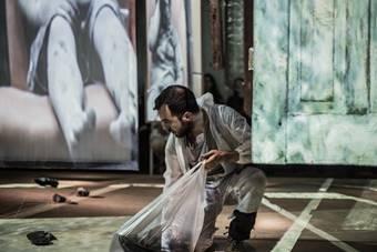 """""""Medee. O przekraczaniu"""", spektakl Teatru ZAR; 29–31 marca 2019. Fot. Tobias"""