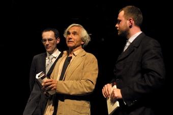 Grzegorz Ziółkowski, Eugenio Barba, Jarosław Fret, XIV sesja ISTY. Wrocław,