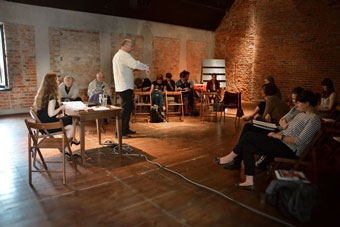 """Marzena Dobrzańska, konferencja """"Wielka? Reforma? Teatru?"""", Wrocław 8 czerwca 20"""