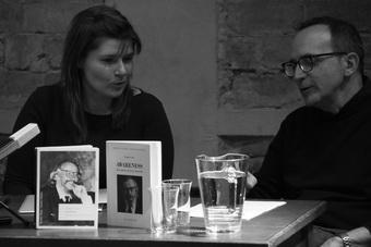 Katarzyna Woźniak i Gabriele Vacis, 9 maja 2015. Fot. Tobiasz Papuczys