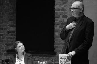 Monika Blige i Dariusz Kosiński, spotkanie poświęcone książce Dariusza Kosiń