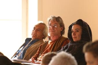 Eugenio Barba, Torgeir Wethal i Roberta Carreri w czasie XIV sesji ISTA