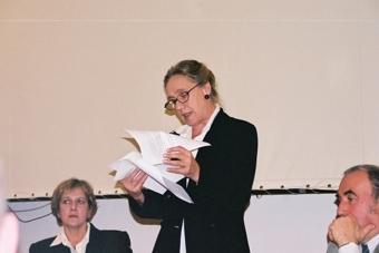 Barbara Osterloff, Maja Komorowska i Janusz Degler