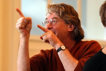 Torgeir Wethal w czasie warsztatów prowadzonych w ramach XIV sesji ISTY