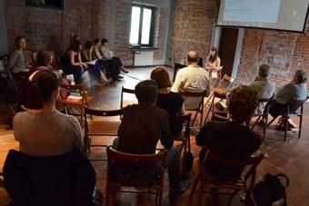 """Konferencja """"Wielka? Reforma? Teatru?"""", Wrocław 8 czerwca 2013, fot. Miriam Agni"""