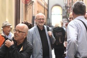 """Stanisław Krotoski i Leszek Kolankiewicz, """"Laboratorium humanistyki"""", spotka"""