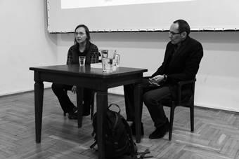 """""""Teatr Słońca"""", potkanie z dr Magdaleną Hasiuk; 27 listopada 2017. Fot. Yousef A"""