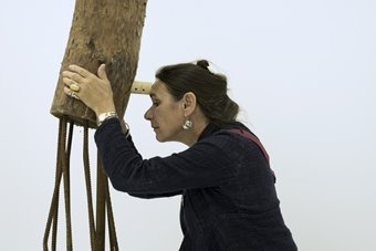 "Roberta Carerri, instalacja ""Post-Apocalypsis"". 18 września 2015. Fot. Magdal"