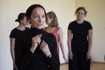 VIII zjazd Akademii Teatru Alternatywnego, na zdjęciu: Jolanta Krukowska, 20 kwi
