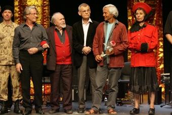 Donald Kitt, Torgeir Wethal, Ludwik Flaszen, Zbigniew Osiński, Eugenio Barba