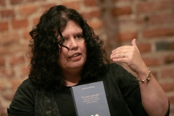 """Lisa Wolford Wylam w czasie konferencji """"Horyzonty"""" w październiku 2006"""