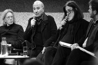 Krzysztof Mieszkowski, Theodoros Terzopoulos, Iljaz Wrazas, konferencja na t