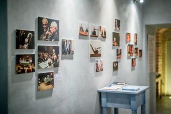 "Wystawa ""Peter Brook we Wrocławiu"", 21 marca 2015. Fot. Maciej Zakrzewski"