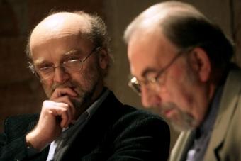 Leszek Kolankiewicz i Janusz Degler