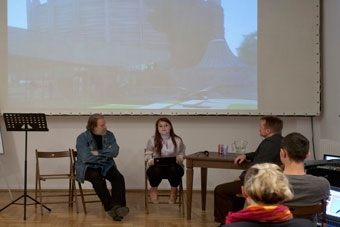 Victor Adorjan, Mila Szczecina, Marek Pieniążek, letnie seminaria OUP 2011, fot.