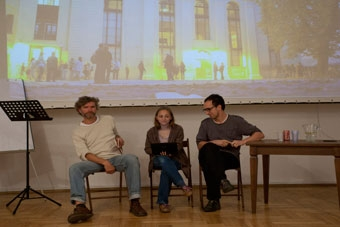 Jan-Kare Breivik, Hana Reisigova, Robert Kielawski, letnie seminaria OUP 2011, f