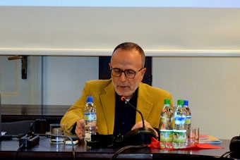 """Marco De Marinis, konferencja: """"Performer – dawny czy nowy paradygmat twórcy?"""