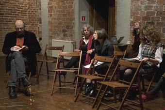 """""""Reduta – nowe spojrzenia"""", Wrocław 29.11.2010, na zdjęciu: Dariusz Kosiński, Ma"""