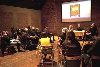 Spotkanie wokół Raptularza kijowskiego Osterwy, Wrocław 29.11.2010, fot. Irena L