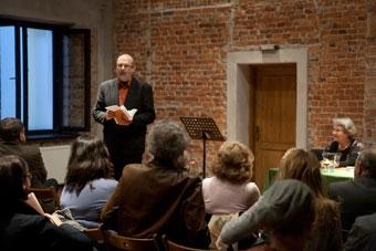 """Prof. Jana Pilátová: Anamneza """"Święta"""", wykład mistrzowski, 27 marca 2012 (Międz"""