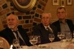 Od lewej: Ludwik Flaszen, Kazimierz Grotowski, Zbigniew Osiński