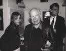 Od lewej: Magda Złotowska, Peter Brook, Zbigniew Osiński
