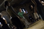 Na zdjęciu: Tage Larsen i uczestnicy warsztatów