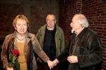 Od lewej: Irena Kozaczka-Flaszen, Stanisław Krotoski, Ludwik Flaszen