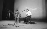 Od lewej: Eugenio Barba, Jerzy Grotowski
