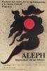 Plakat spektaklu Aleph, 1983