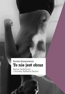 Dorota Semenowicz To nie jest obraz. Romeo Castellucci i Societas Raffaello Sanz