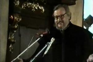 Promocja Jerzego Grotowskiego na doktora honoris causa Uniwersytetu Wrocławskieg