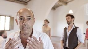 Kadr z materiału roboczego do filmu Anieli Gabryel